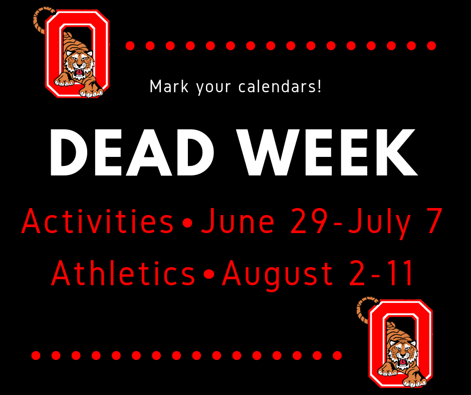 Dead Week graphic